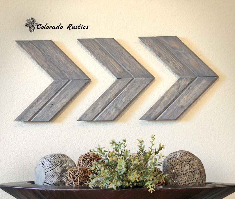 Kohls Arrow Wall Decor : Arrow wall art chevron d?cor rustic
