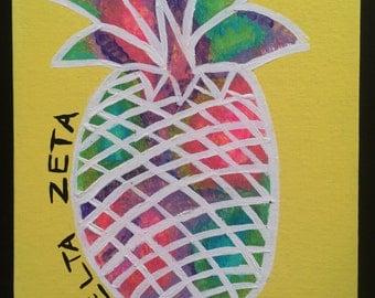 Delta Zeta Pineapple