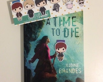 Magnetic Bookmarks • A Time to Die Inspired