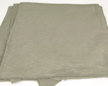 Heather Sage Green Textured Knit Fabric by the Yard  ATK00007