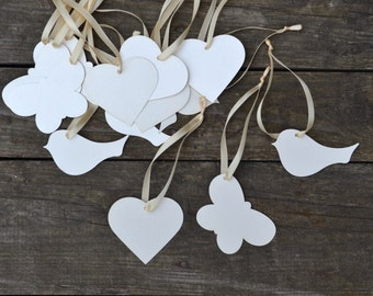 wedding favor tags, Wishing tree, tags for wedding favors, baptism favors, tags for  baby shower, wish tree with 50 tags, thanks tags