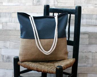 Beach bag - Dark grey