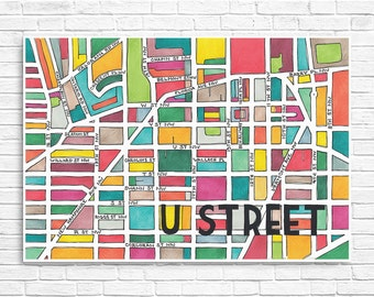 U Street Neighborhood Map