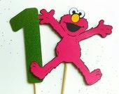 Sesame Street cake topper, Sesame Street decorations, Elmo cake topper, Sesame Street first birthday decorations