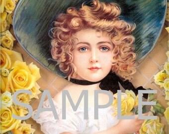 Digital Download File *Yellow Roses* 5096