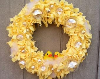 Rubber Ducky Wreath