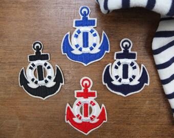Patch / Patch / nautical anchor / Vintage