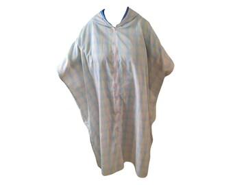 Pastel Fabric Caftan, Cool Comfortable Kaftan, Knee Length Caftan, Swim Suit Cover, House Dress, Lounge Wear, Spring Summer Wear, Plus Size