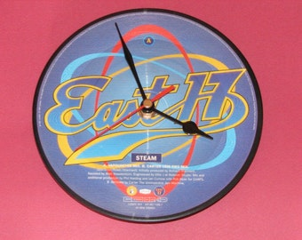 "East 17 Steam 7"" picture disc record clock"