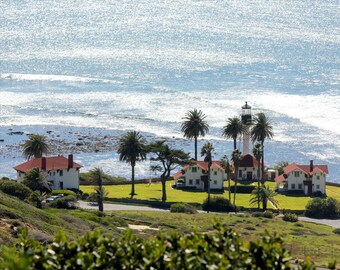 San Diego / San Diego Art - Coast Guard Station San Diego - Point Loma / Cabrillo National Monument - Wall Art Photography