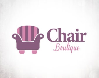 Premade Logo Design • Sofa Chair