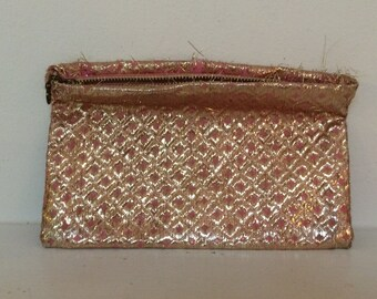 Cosmetics Pouch - Vintage Fabric Pouch