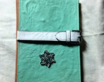 Frozen inspired leather book