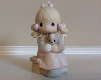 "Precious Moments ""Sent From Above' Figurine Enesco #100528."