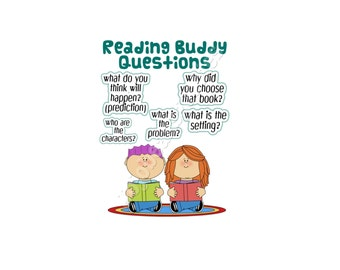 Reading Buddy Questions Poster