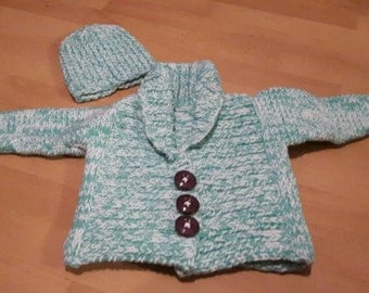 Sweater with matching Hat