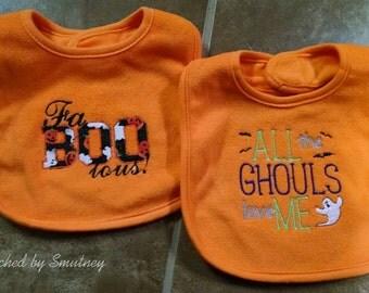 Halloween Baby Bib - Ready to Ship