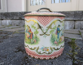 Tin - Cookie Tin - Vintage