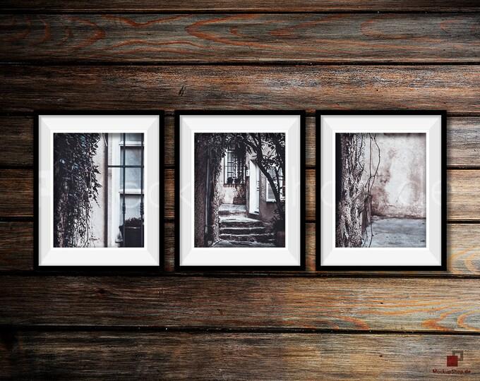 BLACK FRAME MOCKUP, Set of 3, Empty Mockup Frame, Black Frame Mock-Up, Digital Frame Mockup for download, Frame Mockup, Download File