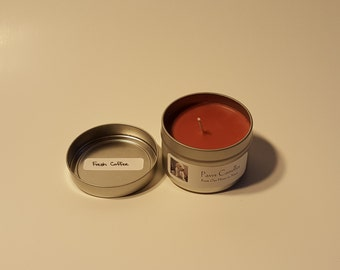 Fresh Coffee Tin Candle