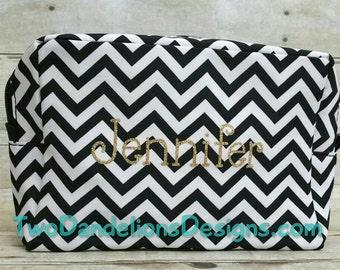 SALE!! Personalized Cosmetic Bag. Cheer bag, dance bag, Travel bag, makeup bag, organizer, travel bag, toiletry bag, zippered bag