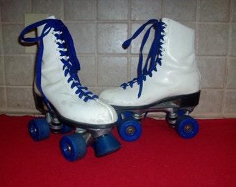 Vintage white women's roller skates SALE!