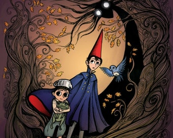 Loveliest Lies of All - Over the Garden Wall Print