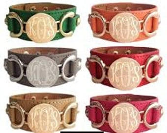 Leather Bracelets Personalized Gift