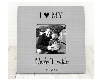 Fathers Day Gift for Uncle Gift Brother Gift Gifts for Uncles Uncle Frame Personalized Gifts I Love My Uncle