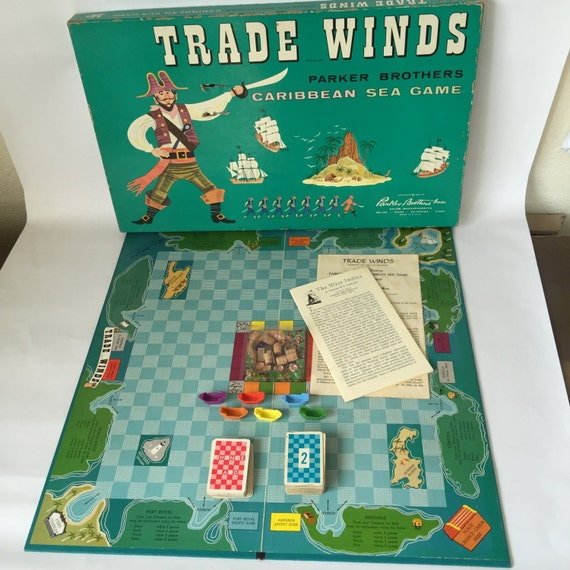Vintage Milton Bradley board games for family fun (1950s ...  1960 Board Games List