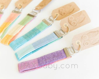 Wrap Scrap Key Fob Wristlet