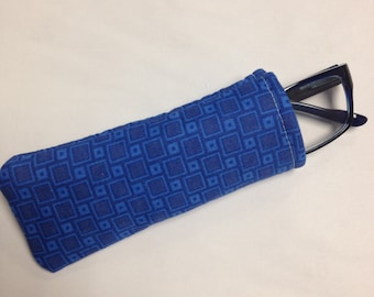 Blue Reading Glasses Case - Ready to Ship!