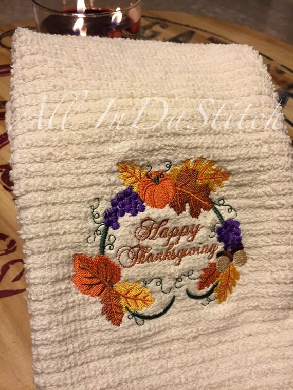 Thanksgiving Kitchen Towels Thanksgiving Wikii
