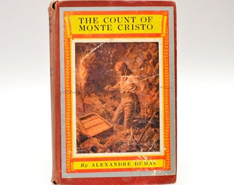 The Count of Monte Cristo by Alexandre Dumas The Newbery Classics McKay Vintage Book