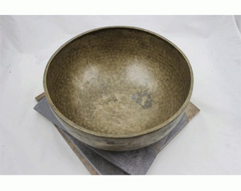 11 inch singing bowl Eb4 319hz