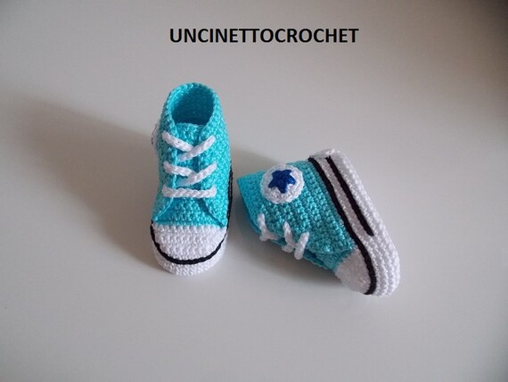 CONVERSE PATTERN All Star Baby crochet by uncinettocrochet ...