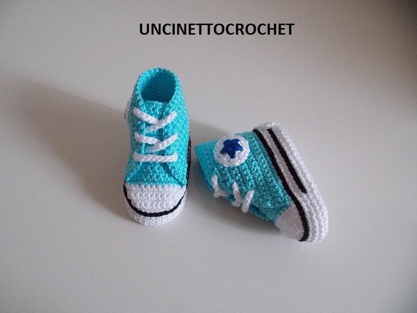 CONVERSE PATTERN All Star Baby crochet by uncinettocrochet ...