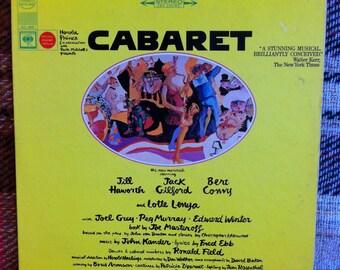 Cabaret Original Broadway Cast Vinyl LP Record Soundtrack Original Press
