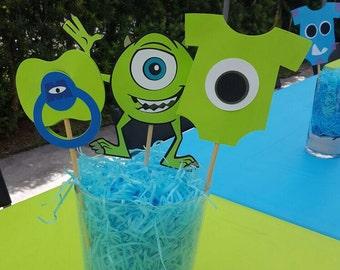 Monsters Inc Baby Shower Centerpieces/Monsters Inc Centerpieces