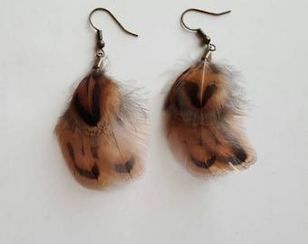 """Earrings """"browny"""""""