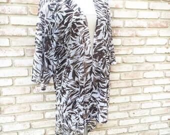 Kimono Cardigan, Women's Gift Ideas, Knit Cardigan, Kimonos, Long Duster, Kimono Boho, Camouflage Gift,Swim Cover, Festival Kimono,Halloween