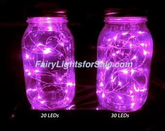 3m/9.8ft 1 set Pink 30 LED fairy light string strand cr 2032 button battery for DIY, centerpiece, vase, wedding, costume, rave, EDM, micro