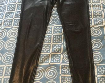 Vintage Black Shimmer Trousers