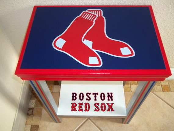 red sox end table 2