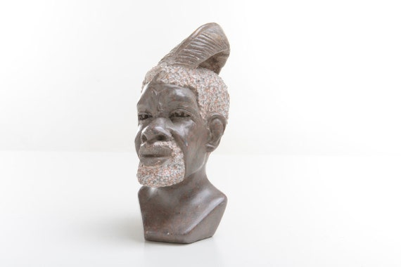 African stone carving sculpture marble or