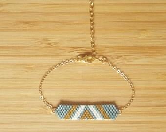 Aztek Aqua bracelet