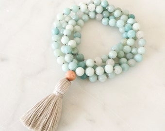 Soothe Mala- mala beads, mala necklace, tassel necklace, mala, mala beads necklace, tassel necklaces, beaded necklace, mala beads 108