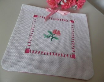 embroidered bag lingerie holder