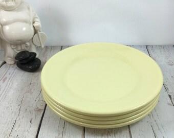 Melmac dishes,Melmac plates,Arrowhead dishes,Arrowhead plates,yellow melmac dishes,yellow melmac plates,yellow melmac,yellow plastic plates