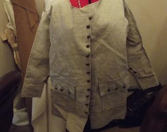 early eighteenth century pirates short coat